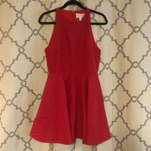 Red dress with pockets!